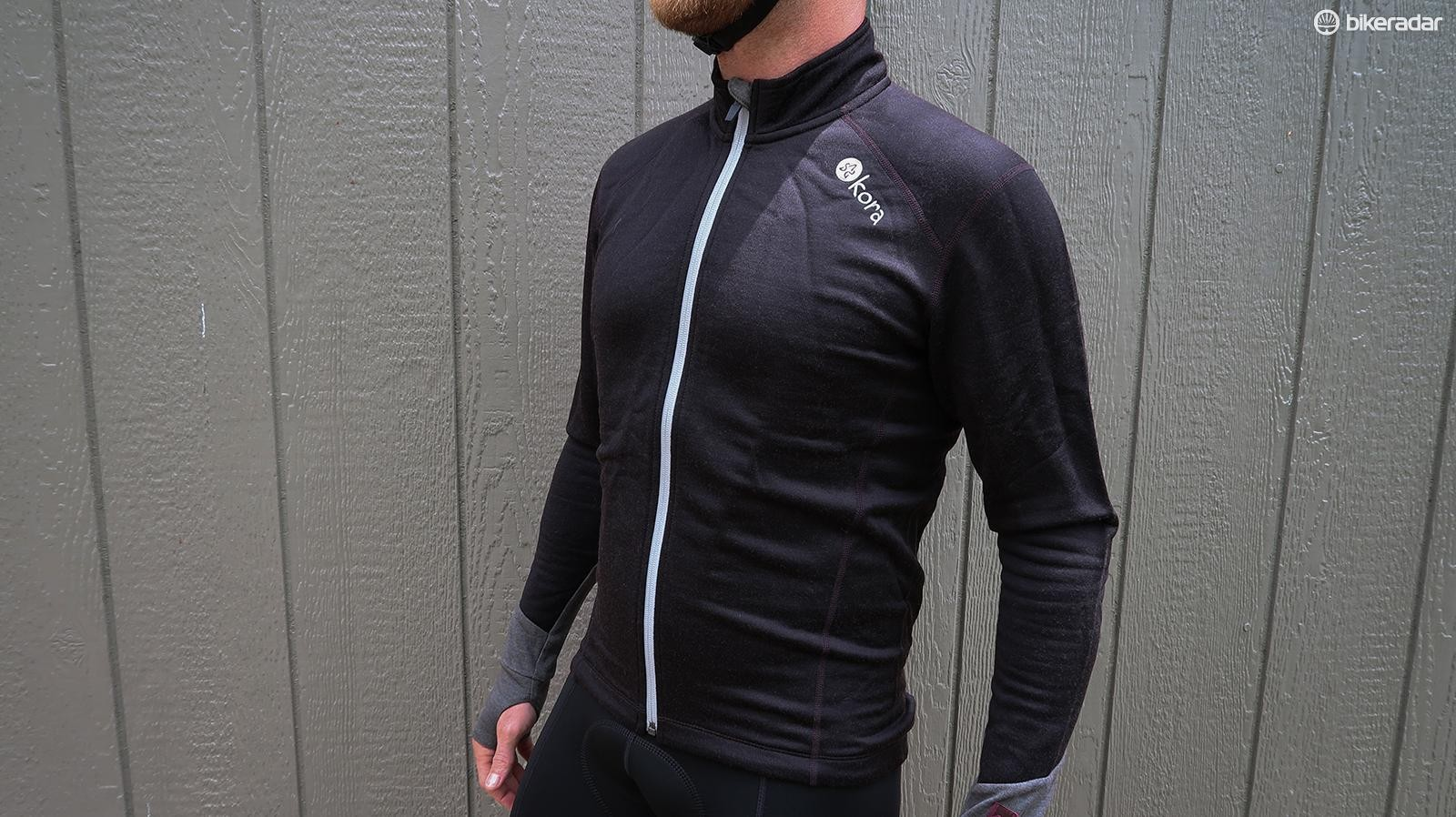 The Kora Azog Jersey is a heavyweight top made from yak wool