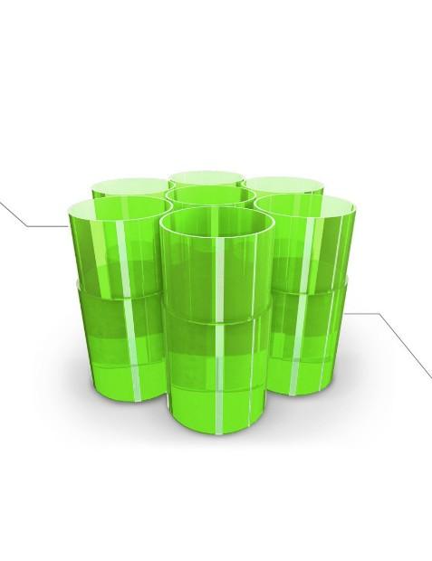 Koroyd tubes are said to provide increased impact absorption