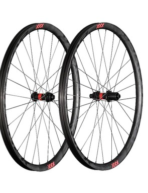 The complete Kovee XXX wheelset has a claimed weight of 1,390g