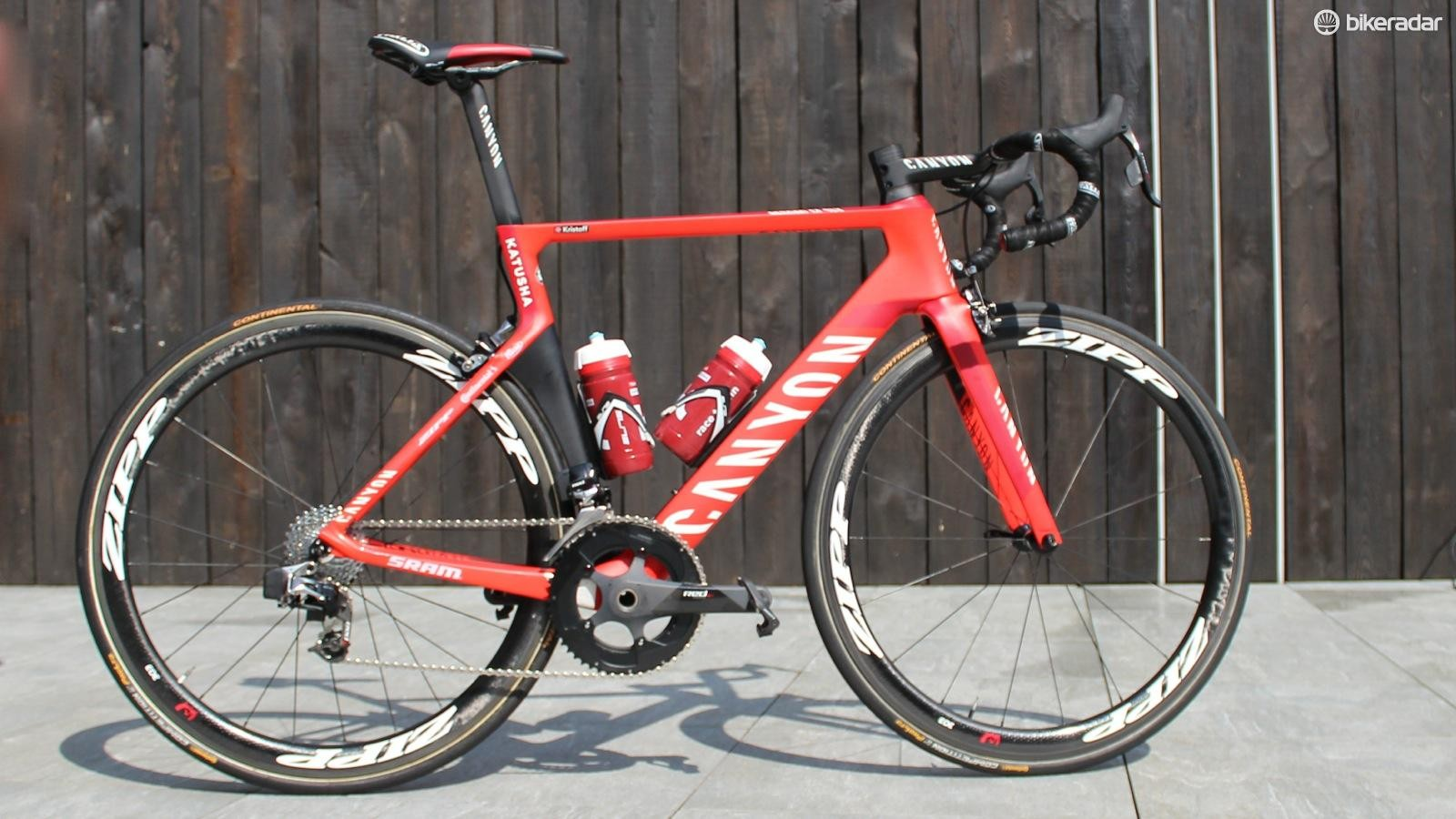 Alexander Kristoff's Canyon Aeroad CF SLX proved to be the winning bike last year at Flanders. Could it win again in 2016?