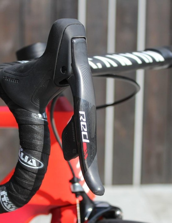 SRAM Red eTap wireless shifting is still pretty hard to lay hands on, unless you just happen to race at the top professional level