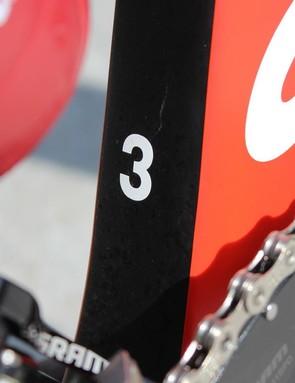 This is Kristoff's third bike