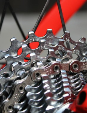 For the cobbled hills of the Tour of Flanders, even the strongest riders often opt for an 11-28t cassette