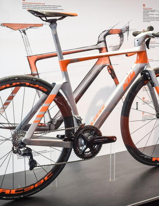 The KTM Lisse is an exceptionally clean piece of design