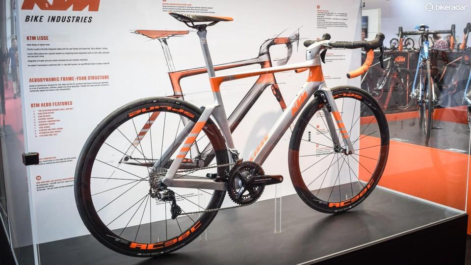 The KTM Lisse is a ridiculously clean aero road bike - BikeRadar
