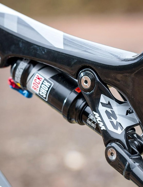 RockShox Monarch RL 125mm rear shock