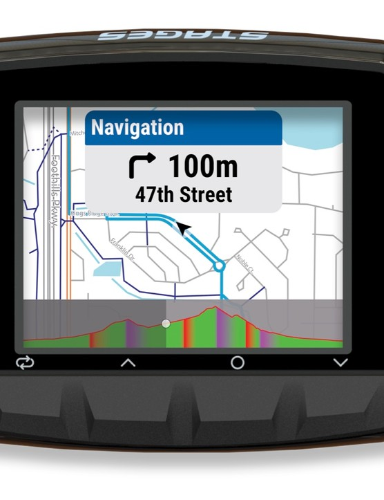 The new Dash computers are configurable for every screen, including the navigation and the workout presentations