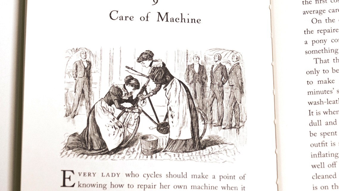 Bike maintenance: as important then as it is now