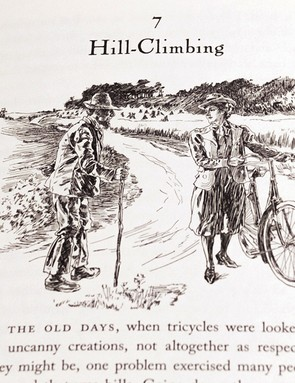 Apparently, hill climbing should not result in all-out exertion