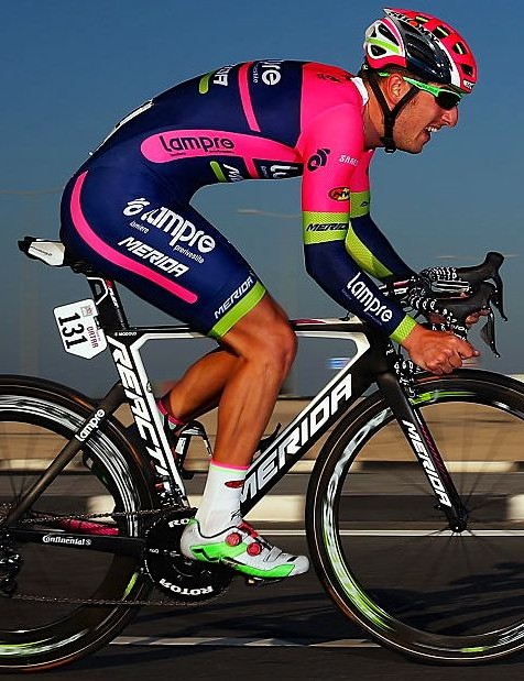Lampre-Merida's Rui Costa at the 2016 Tour of Qatar
