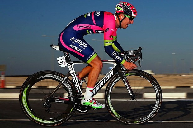Lampre-Merida's Rui Costa at the 2016 Tour of Qatar