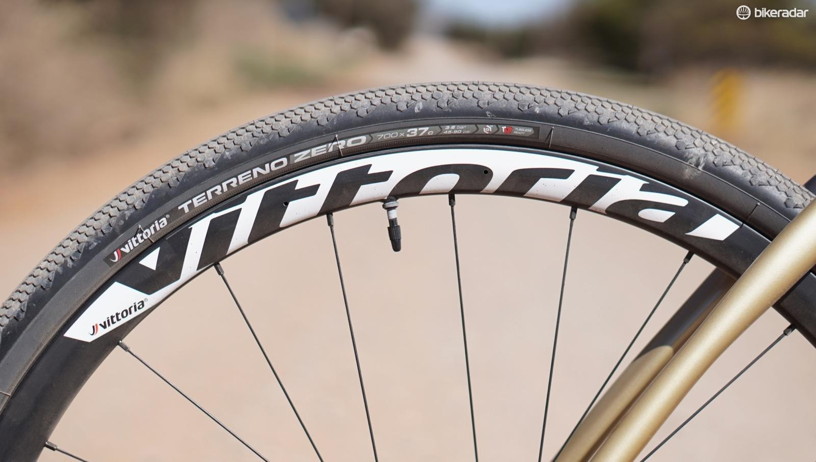 Josh and Ben both raced Vittoria's upcoming carbon wheels