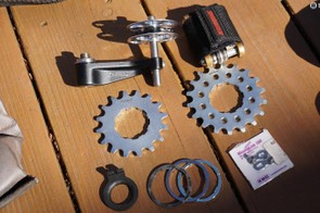 Surly Singleator singlespeed conversion kit with Unior Emergency Cassette Lockring Tool? Check and double check. What are we getting ourselves into?!