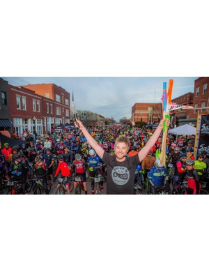 District Bicycles owner and Land Run 100 race promoter Bobby Wintle started the Land Run 100 in 2013, and his enthusiasm has propelled it into a massive gravel event