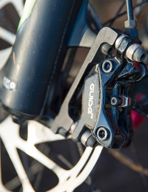 Guide RE brakes offer decent power