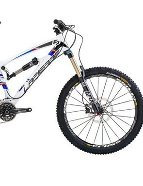 The Lapierre Spicy. I don't even have any great pictures of me riding it, which is telling in of itself...