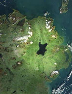Lough Neagh is located in the centre of Northern Ireland