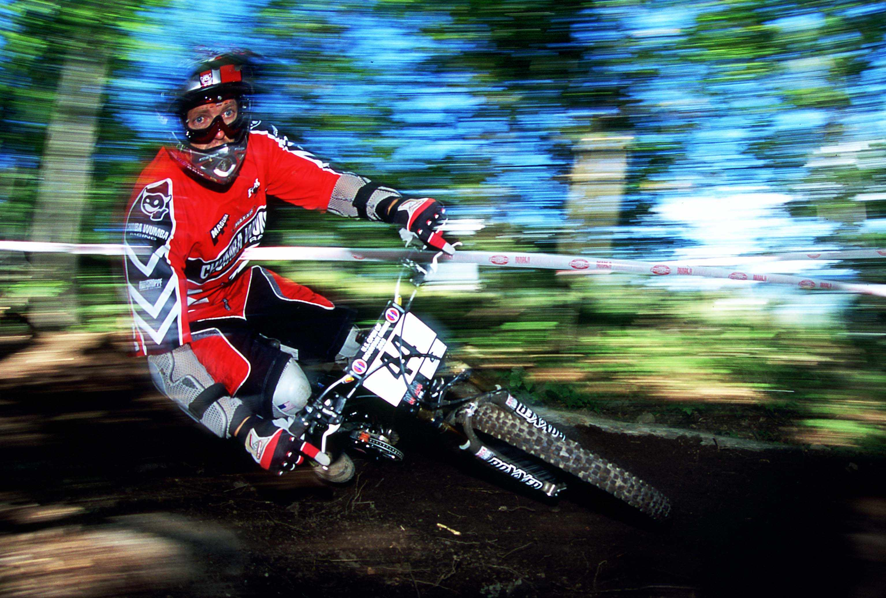Lars Tribus racing in 2007.