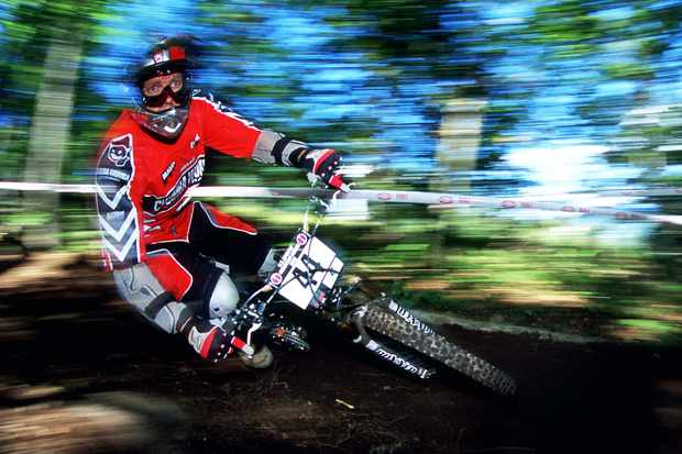 Lars Tribus racing in 2007.