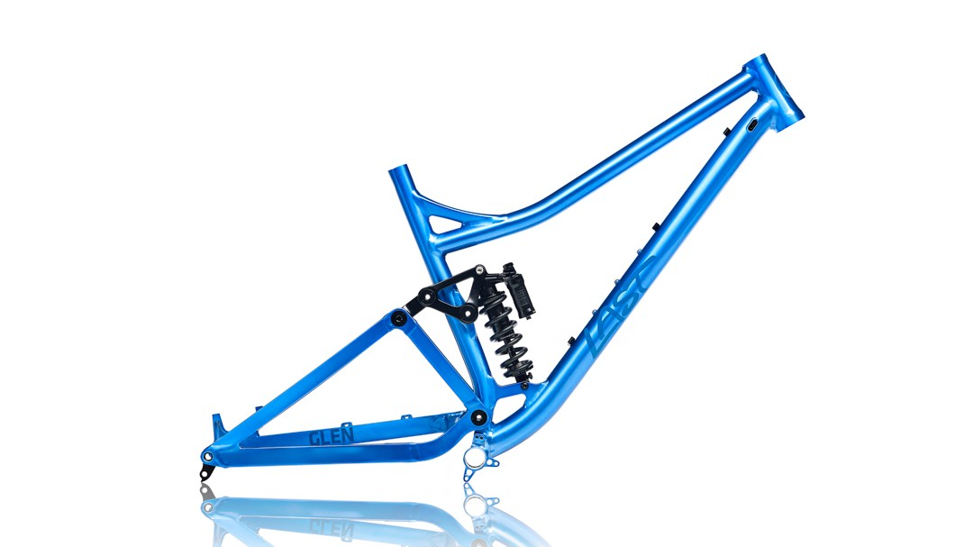 The bike is available as a frameset only option