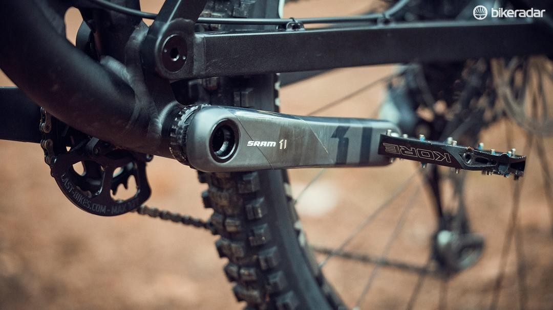We're happy to see a threaded bottom bracket