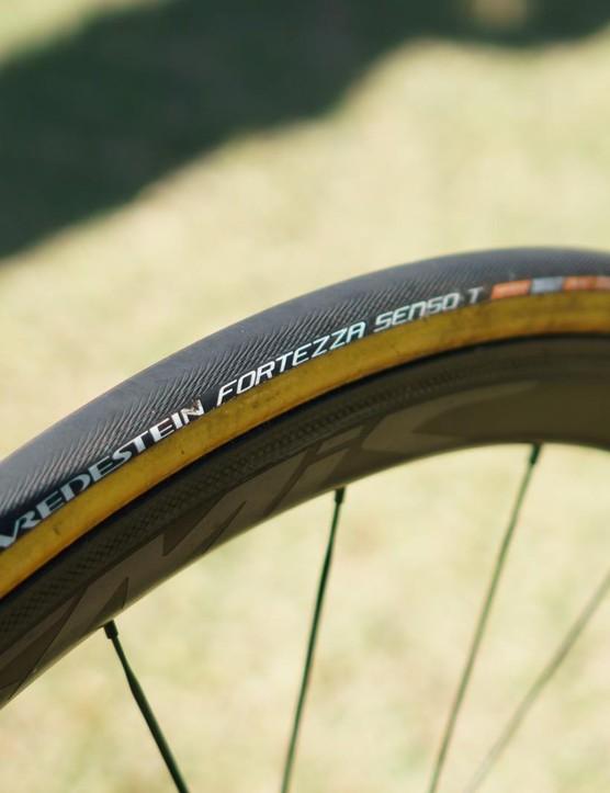 Vredestein supplies the tyres