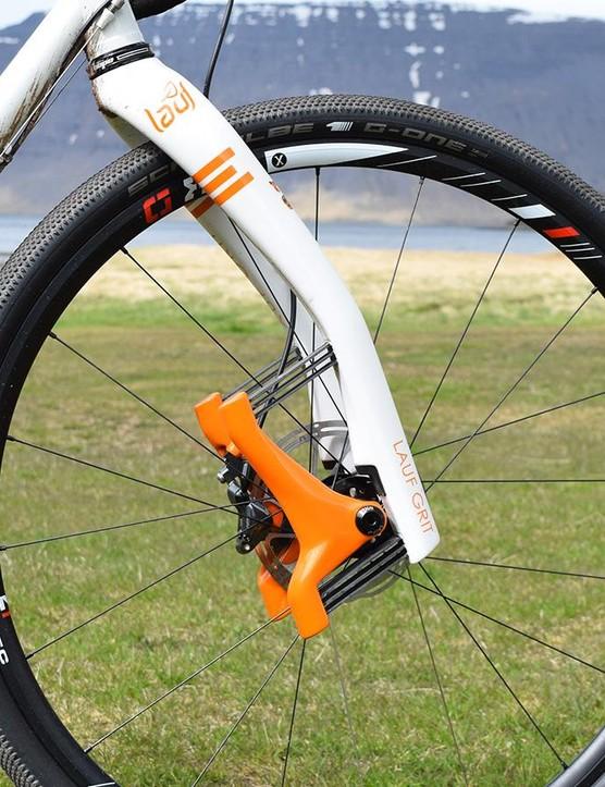 Lauf's gravel racing Grit fork