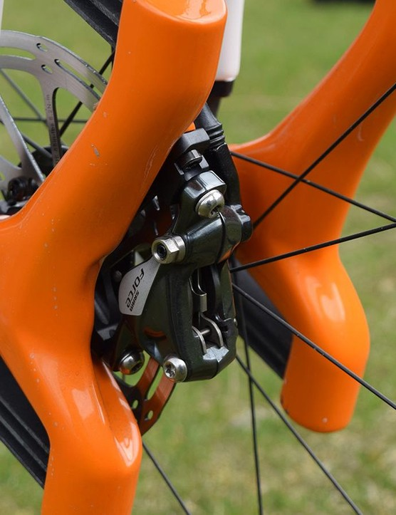 The 30mm of travel the Grit has is 1.8 times stiffer than that found on the Trail Racer