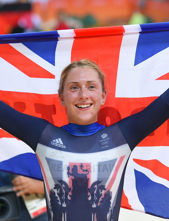 Laura Kenny has a determination to succeed that she's keen to share