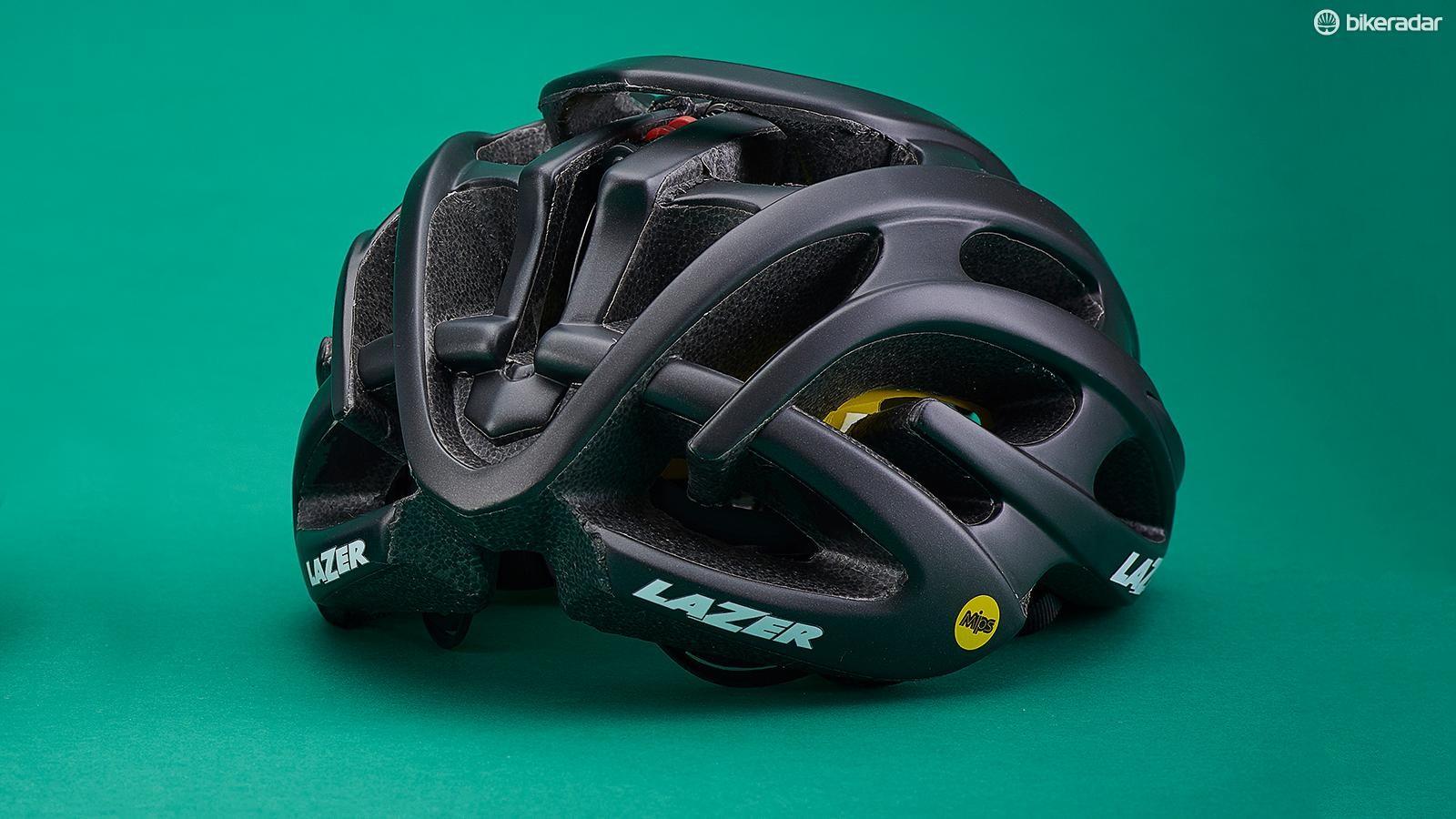The Lazer Blade MIPS helmet