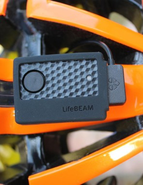 The LifeBEAM DIY Kit reads heart rate at the forehead then broadcasts it to Garmins or smartphones in ANT+ and Bluetooth