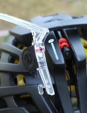 The Z-LED snaps into the back of a Z1