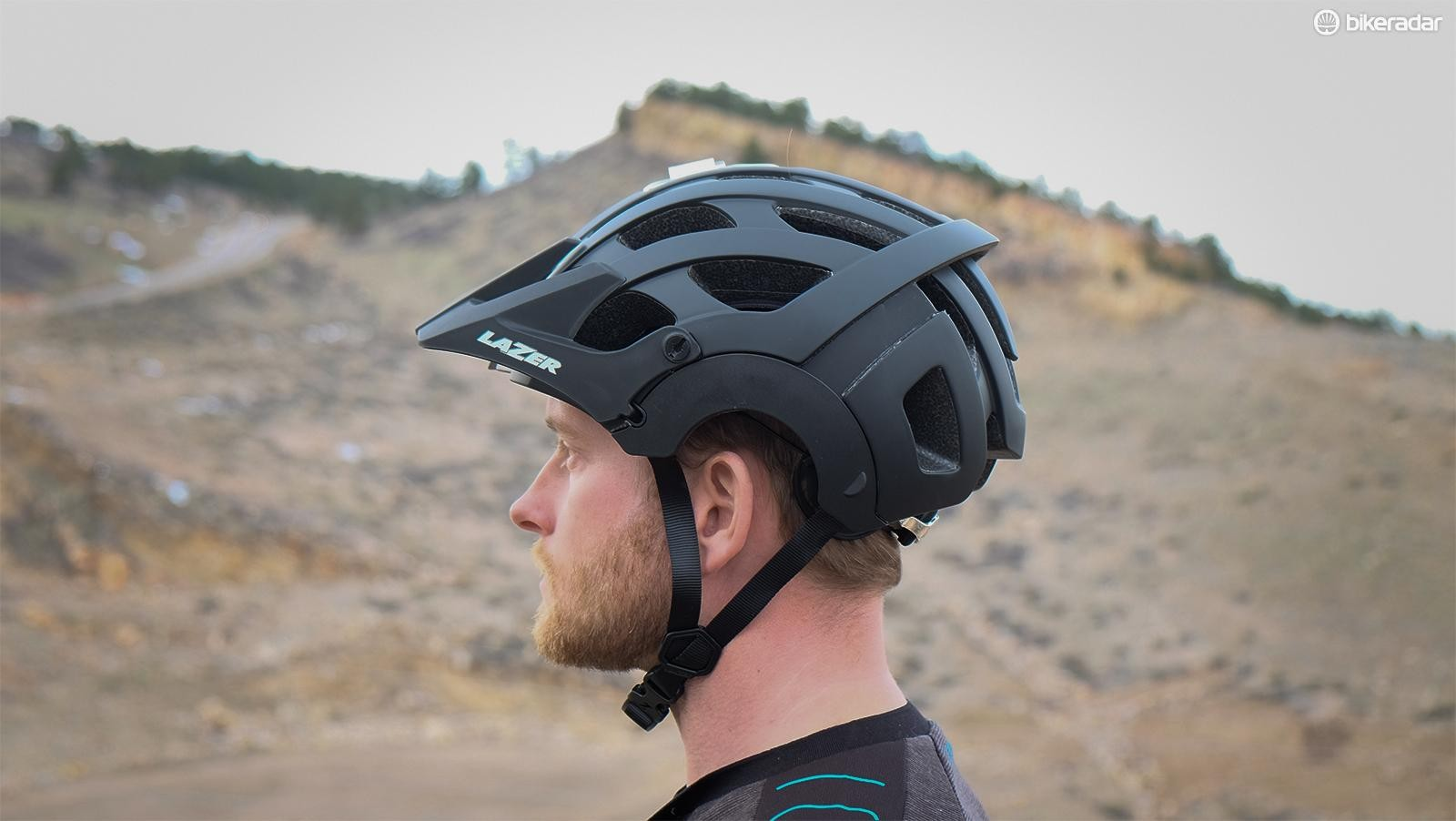 The Lazer Revolution is a half-shell with full-face convertibility
