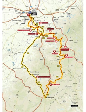 Liège–Bastogne–Liège is the fourth Monument listed here and takes on 11 of the toughest climbs in the Ardennes