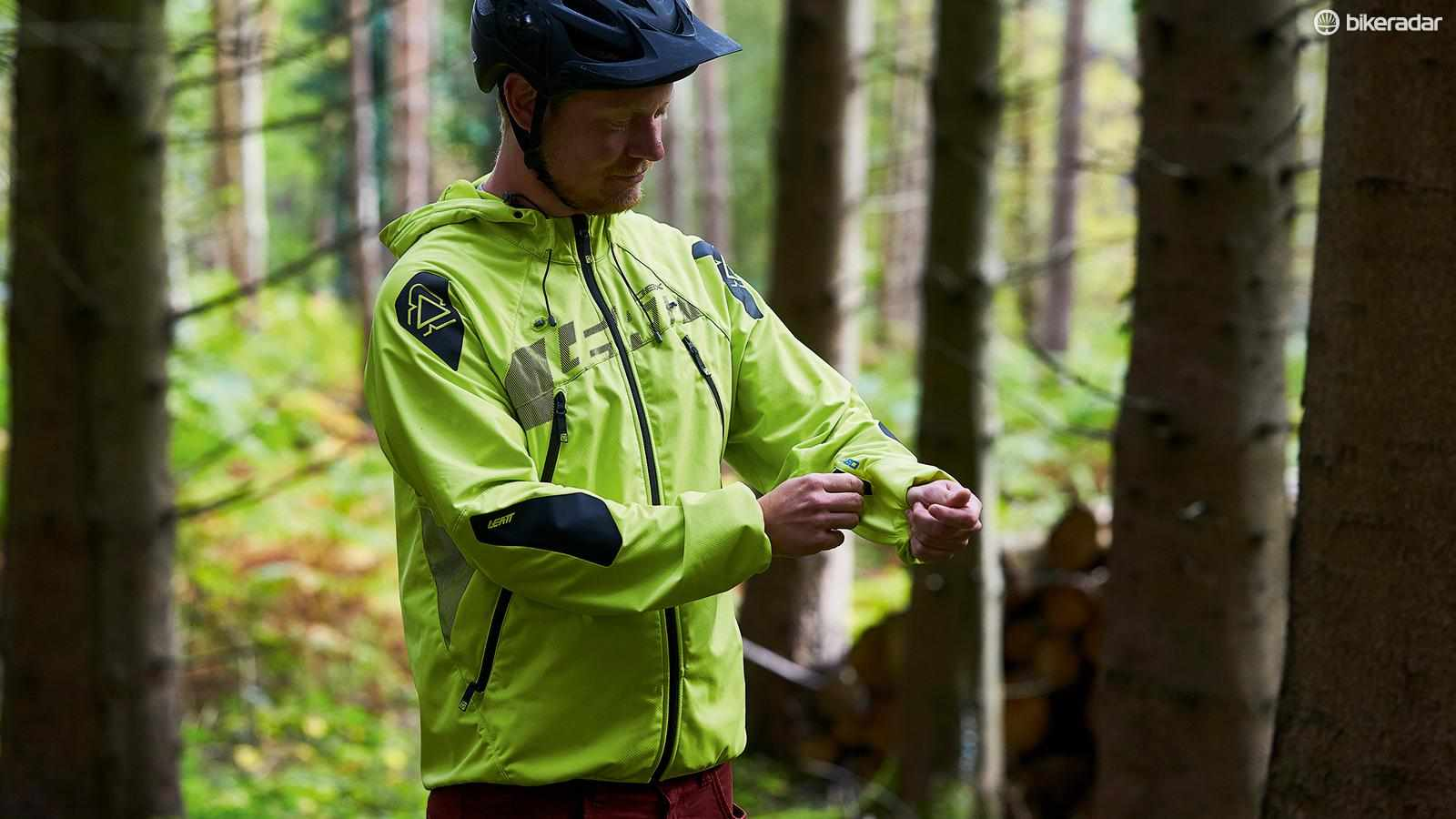 Leatt's DBX 4.0 All-Mountain waterproof jacket