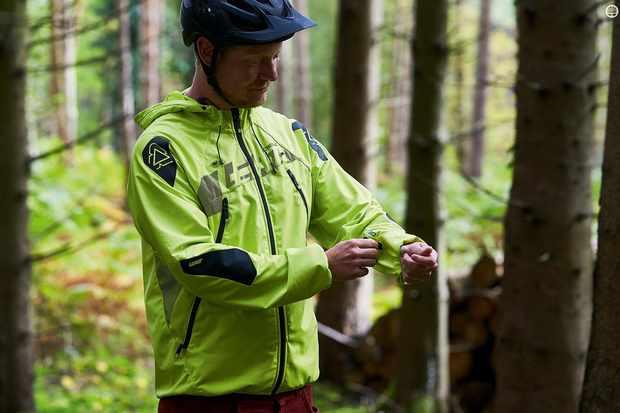 Leatt's DBX 4.0 All-Mountain waterproof jacket