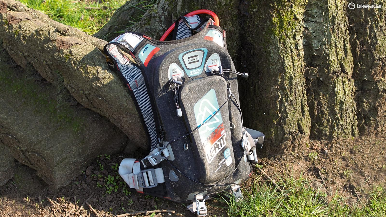 Leatt's DBX Enduro Lite WP 2.0 hydration pack didn't really live up to its promise