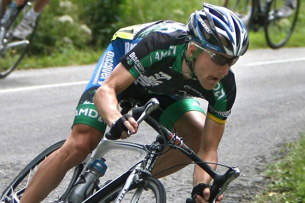 Discovery's Levi Leipheimer (seen here in the Tour de France) is the new US road champion.