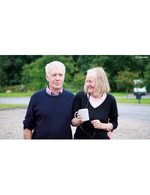 Star soigneurs, Don and Gwen, were always on hand with a hot drink and a smile