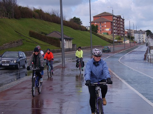 Safe cycling is a priority in the UK.