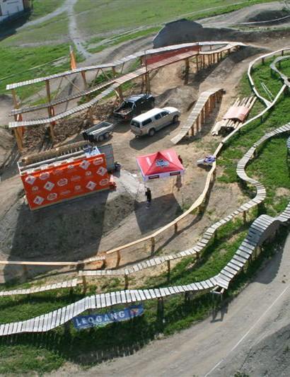 New trail at Leogang bike park