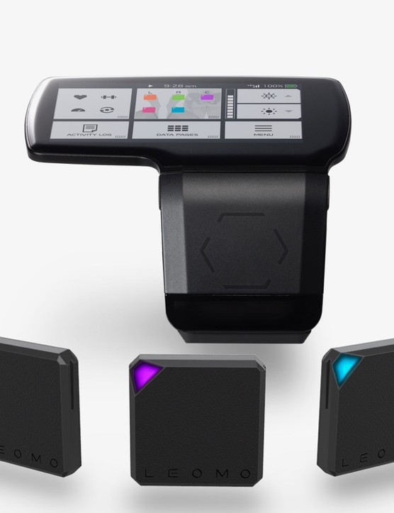 The Type-R system consists of a head unit and five wireless sensors