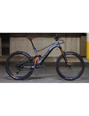 The Lapierre eZesty is a relatively svelte e-mountain bike which can be made into a regular enduro bike