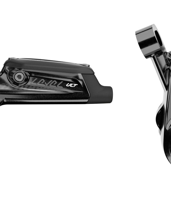 Level Ultimate lever gets titanium hardware and carbon lever blade