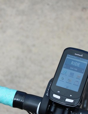 When connected via ANT+ to a newer Garmin Edge, the Di2 levers can operate certain bike lights