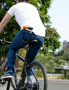 The multiple styles in the men's range have a tab to hold a bulky U-Lock in place and, although some women are sad this is missing, with plenty of places to store your lock on your bike (or at your regular lock up destination) this feature alone is not a deal breaker