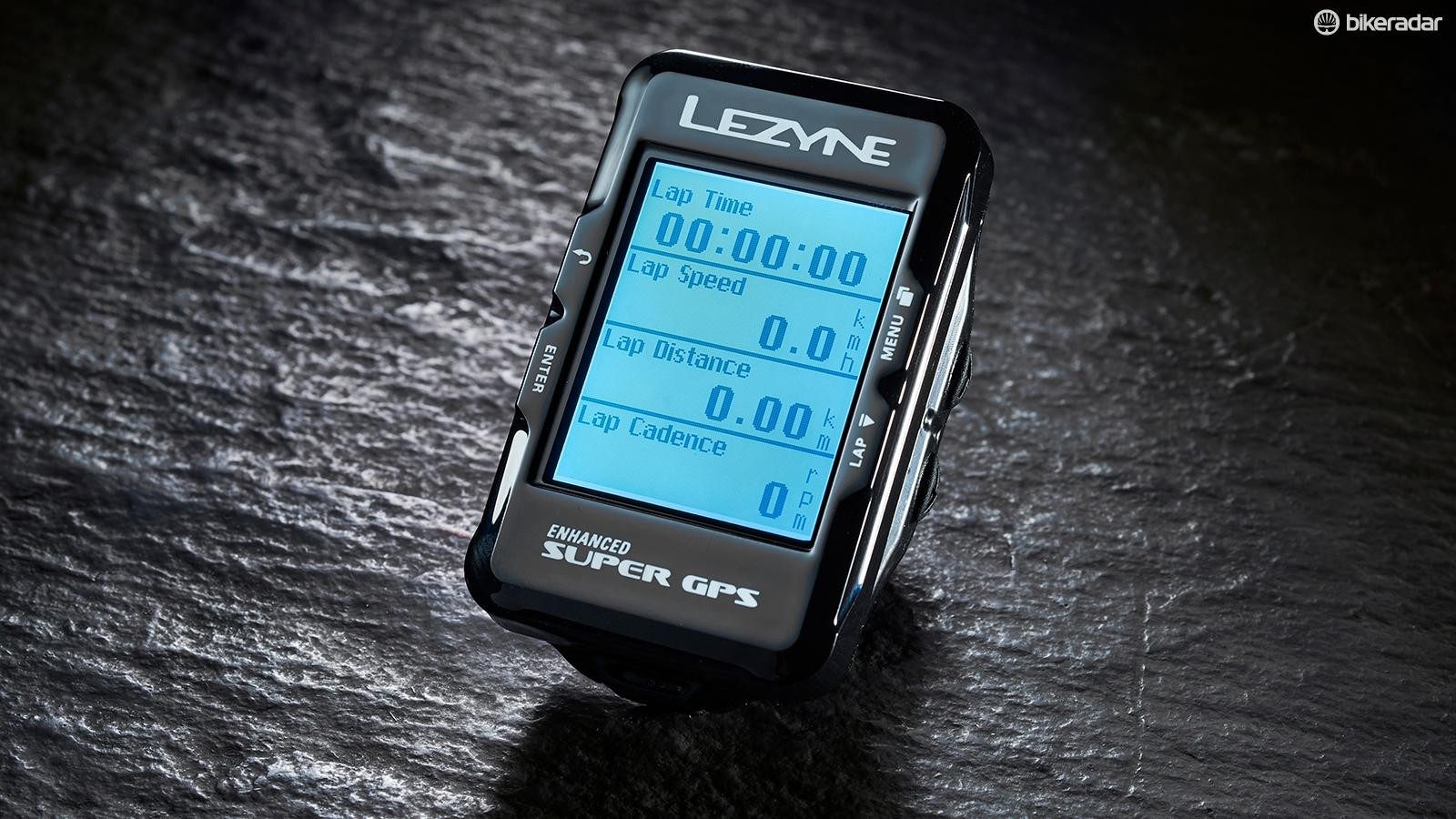 The Lezyne Enhanced Super GPS computer offers good functionality at a great price