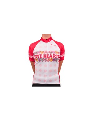 Show your love with this delightful Love Hearts jersey