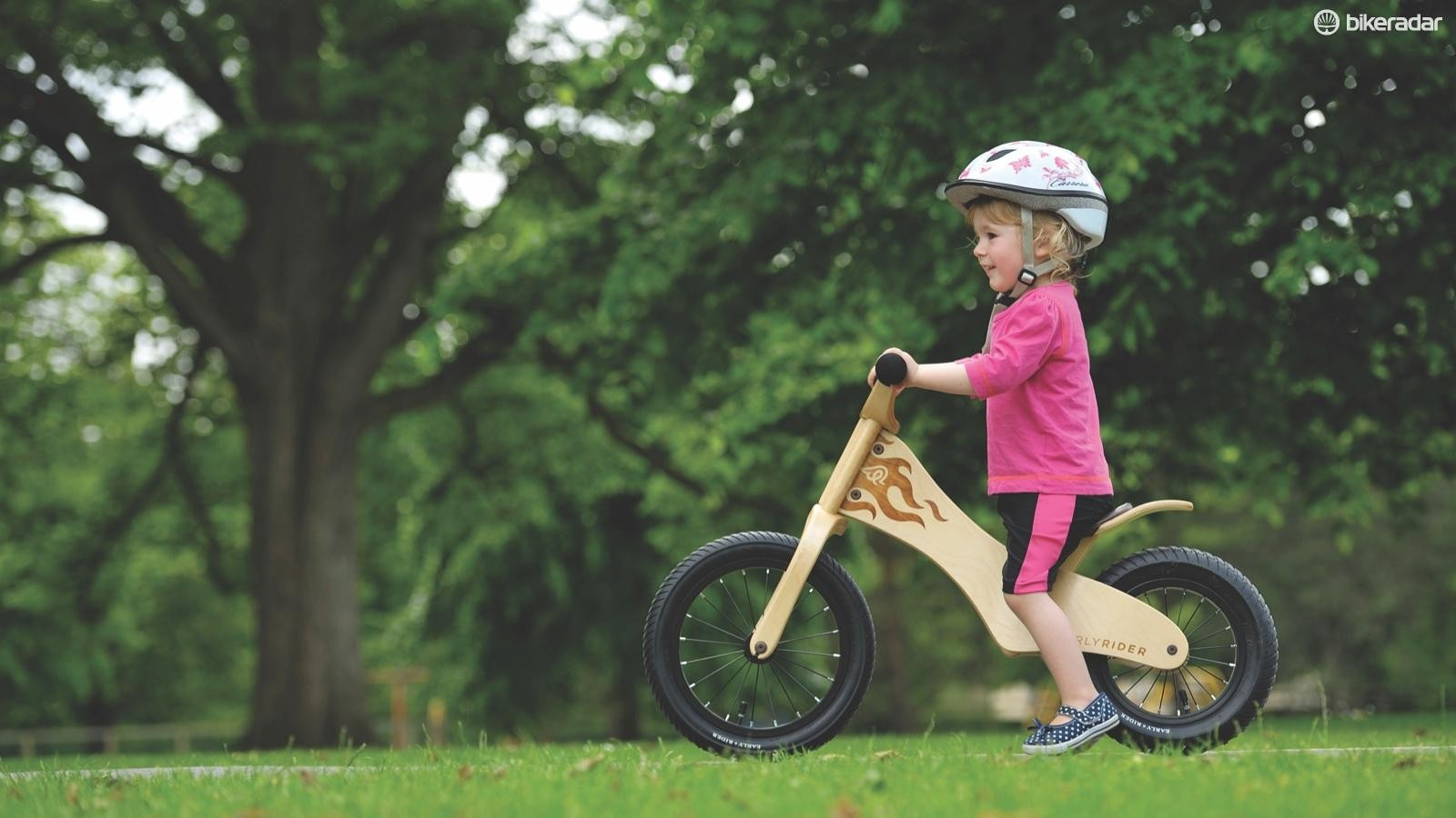 Balance bikes are a great way for children to learn to cycle