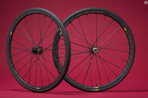 Mavic's Ksyrium Pro Disc Allroad wheelset
